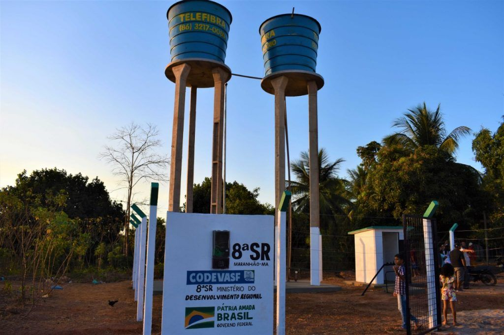hildo rocha inaugura sistema de abastecimento de agua em santa luzia 1 1024x682 - Hildo Rocha inaugura sistema de abastecimento de água em Santa Luzia - minuto barra