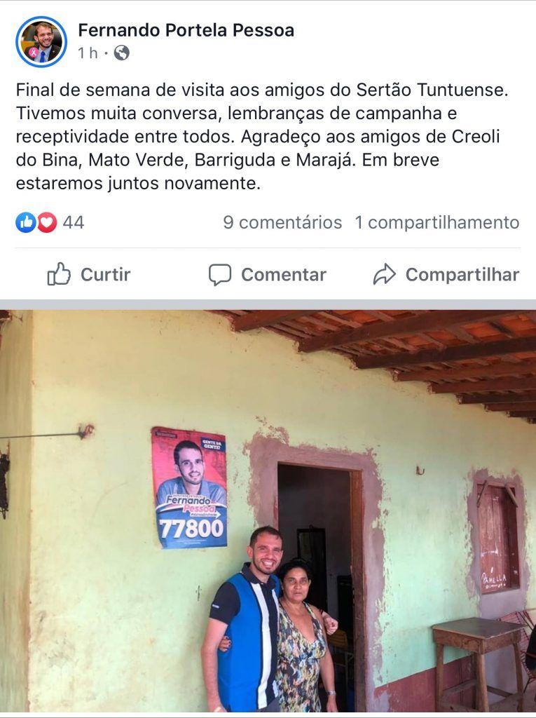 fernando pessoa visita povoados em tuntum e escuta demandas da populacao 1 765x1024 - Fernando Pessoa visita povoados em Tuntum e escuta demandas da população - minuto barra