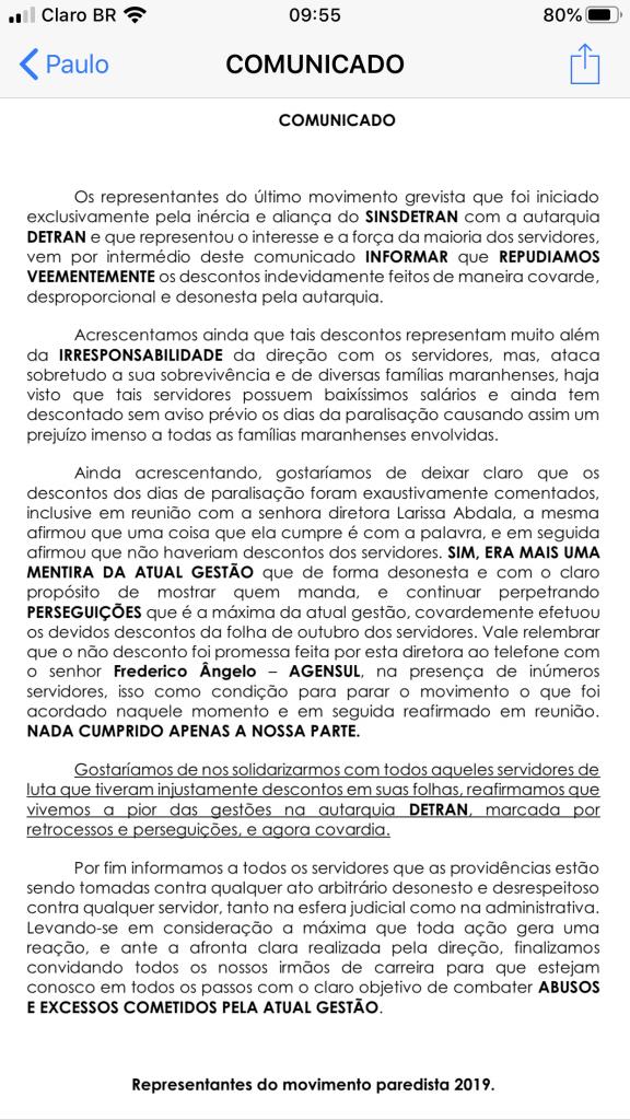 governo flavio dino provoca descontos no salario dos servidores do detran ma 1 576x1024 - Governo Flávio Dino provoca descontos no salário dos servidores do DETRAN-MA - minuto barra