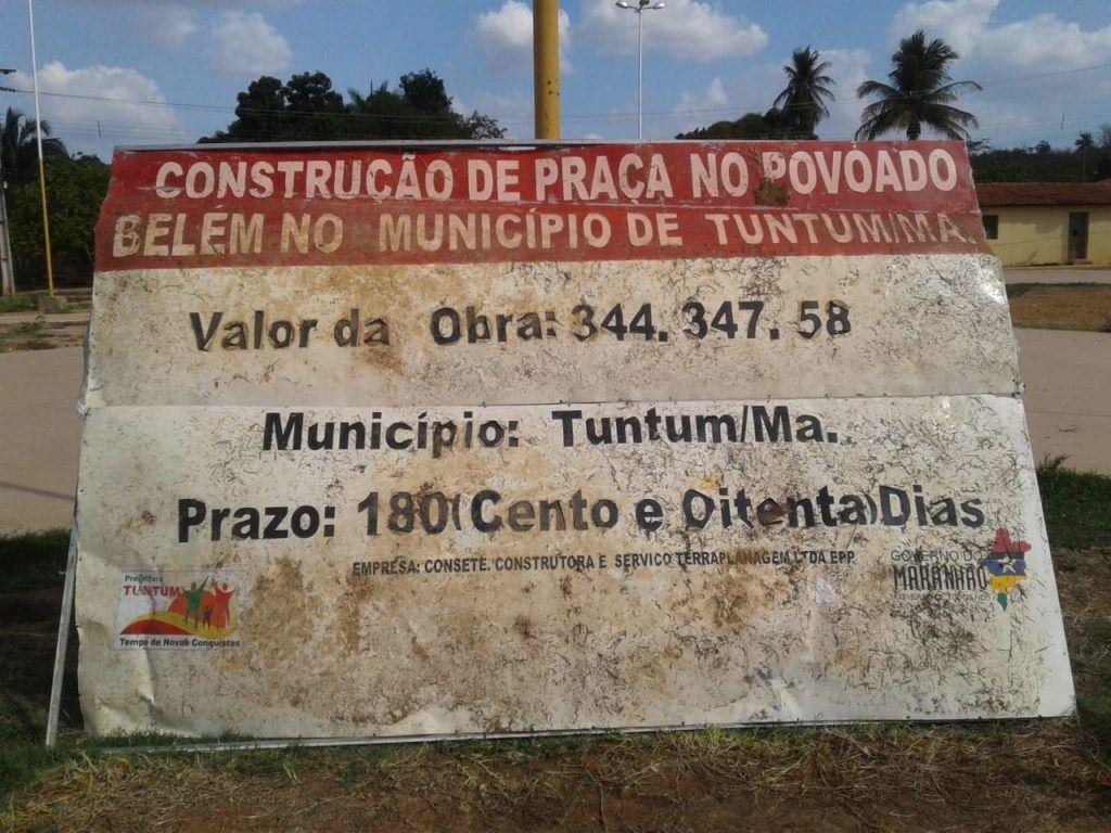 em tuntum uma pequena praca publica no povoado belem custou aos cofres quando r 350 mil 1024x768 - Em Tuntum, uma pequena praça pública no povoado Belém custou aos cofres quase R$ 350 mil - minuto barra