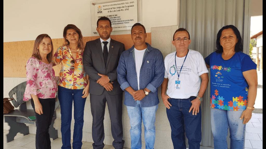 presidente das apaes do maranhao visita apae de barra do corda 1024x576 - Presidente das APAEs do Maranhão visita APAE de Barra do Corda - minuto barra