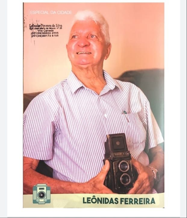 falece leonidas ferreira um dos fotografos de maior destaque na historia de barra do corda - Falece Leônidas Ferreira, um dos fotógrafos de maior destaque na história de Barra do Corda - minuto barra