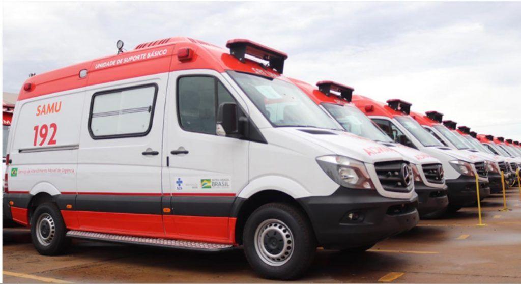 governo bolsonaro entrega 458 novas ambulancias para o samu em todo o brasil maranhao ganhou 21 ambulancias 1024x558 - Governo Bolsonaro entrega 458 novas ambulâncias para o Samu em todo o Brasil, Maranhão ganhou 21 ambulâncias - minuto barra