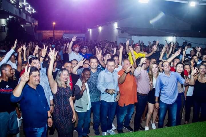 vitalzinho reune milhares de pessoas durante lancamento de sua pre candidatura ao cargo de prefeito em barra do corda 2 - Vitalzinho reúne milhares de pessoas durante lançamento de sua pré-candidatura ao cargo de prefeito em Barra do Corda - minuto barra