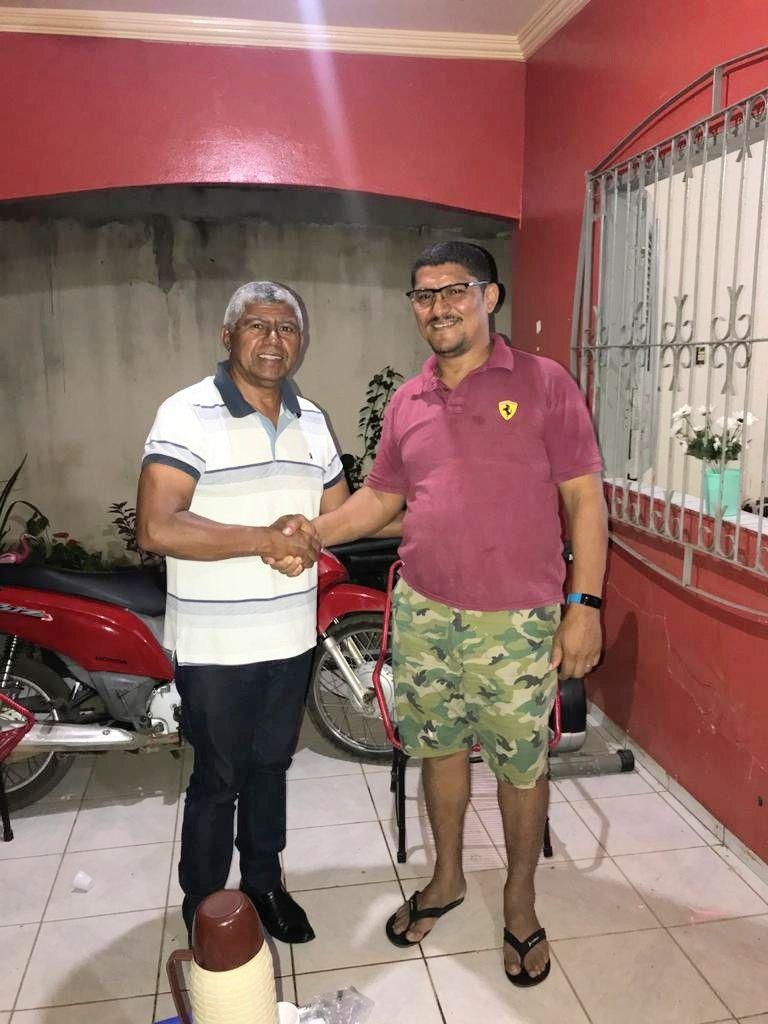 7 - Pré-candidato a prefeito de Barra do Corda Adão Nunes participa de encontro com amigos - minuto barra