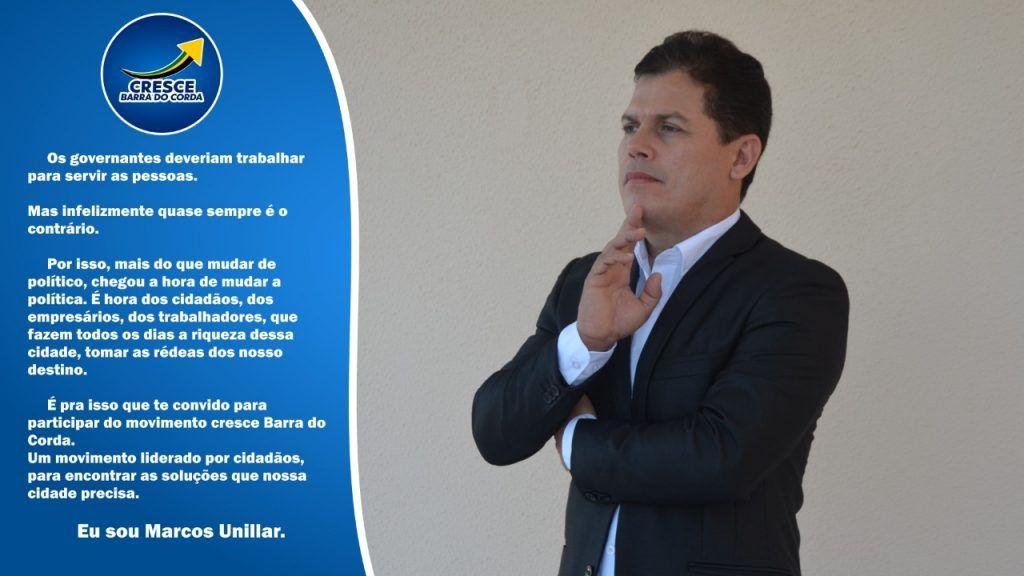 marcos unillar disputara o cargo de prefeito em barra do corda no partido republicanos 1 1024x576 - Marcos Unillar disputará o cargo de prefeito em Barra do Corda no partido Republicanos - minuto barra