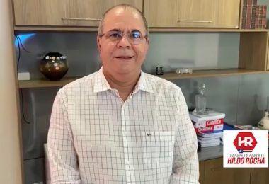 Hildo Rocha agradece governo Bolsonaro pela decisão em instalar 9 leitos de UTIs em Barra do Corda