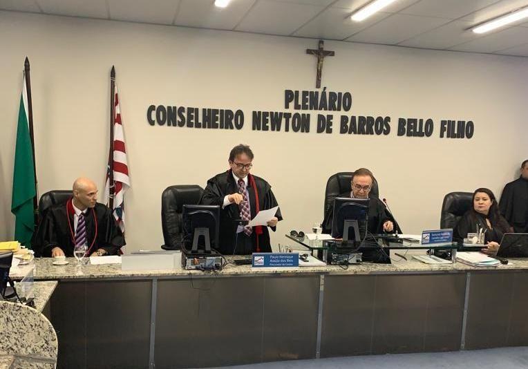 Matéria do Blog Minuto Barra sobre recursos do Covid-19 repercute durante sessão do Tribunal de Contas do Maranhão