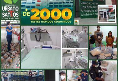 Urbano Santos é referência no combate à pandemia do novo coronavírus