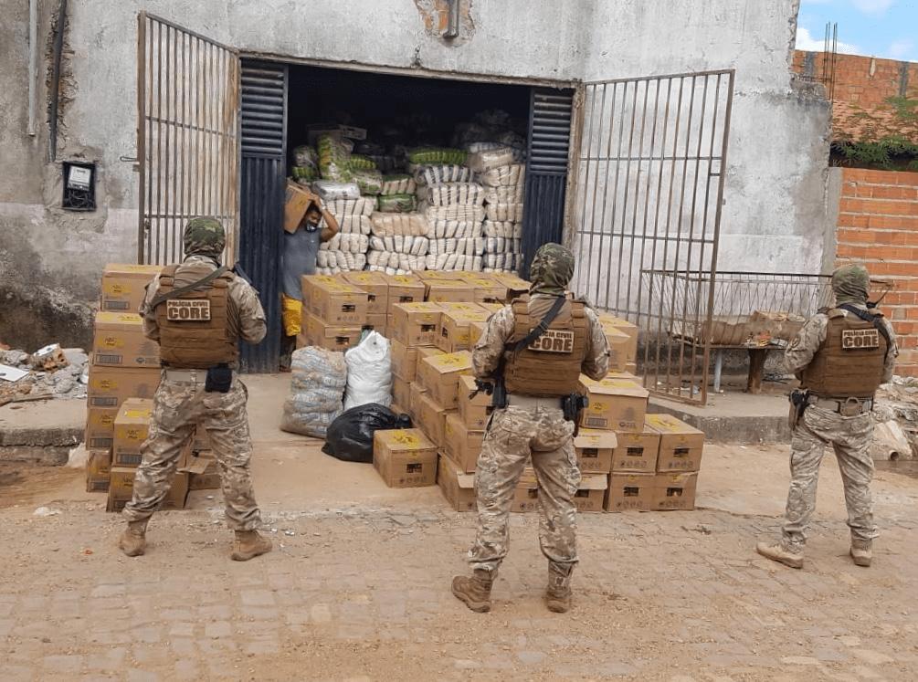 Empresários são presos em Teresina suspeitos de envolvimento em roubo de cargas na Br-226 entre Grajaú e Jenipapo dos Vieiras