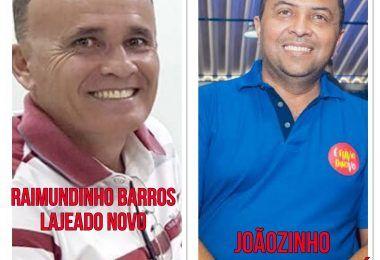 Gestão de Raimundinho Barros em Lajeado Novo e a de Joãozinho em Itaipava do Grajaú recebem primeira parcela do Auxílio Financeiro
