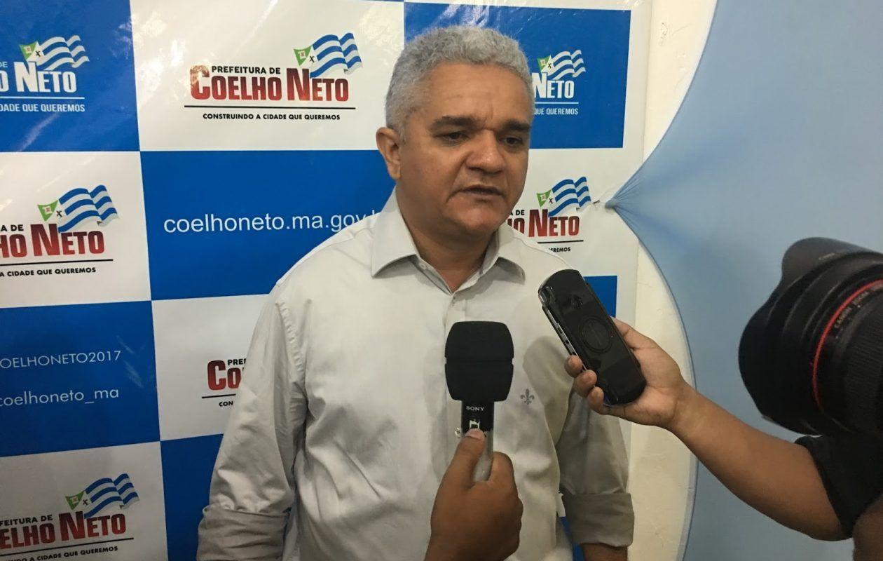 Gestão do prefeito Américo Sousa em Coelho Neto recebeu mais de R$ 1,8 milhão para o Covid-19