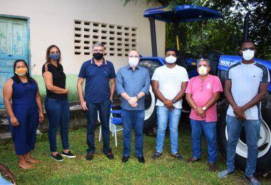 Hildo Rocha entrega patrulha mecanizada para agricultores de Miranda do Norte