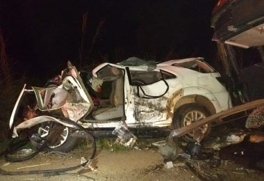VEJA AQUI: PRF se manifesta após colisão entre SW4 e Ônibus em que médico filho do prefeito de Tuntum faleceu