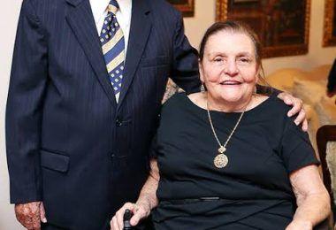 Aos 89 anos, Dona Marly Sarney cai no banheiro em sua residência em Brasília e é levada para hospital