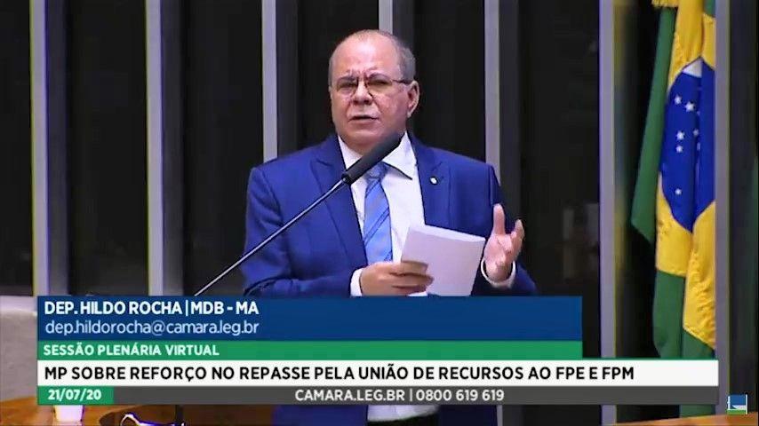 Aprovado parecer de Hildo Rocha que concede auxílio de R$ 332 milhões ao Maranhão