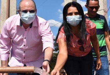 Em Sucupira do Norte, Hildo Rocha entrega sistema de abastecimento de água para população
