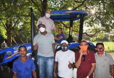 Hildo Rocha entrega mais uma patrulha mecanizada para agricultores de Cantanhede