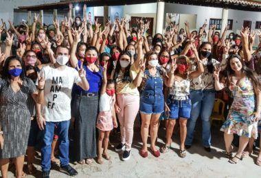 I Encontro das Mulheres em Ação, grupo de apoio a Fernando Pessoa reúne mais de 300 mulheres em Tuntum