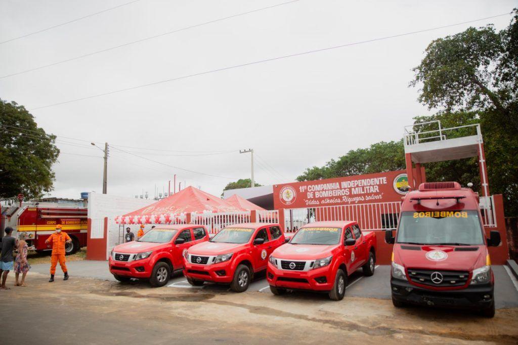 inauguracao unidade do corpo de bombeiros chega em barra do corda 2 1024x682 - INAUGURAÇÃO: Unidade do Corpo de Bombeiros chega em Barra do Corda - minuto barra