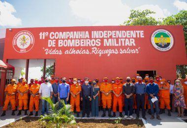 INAUGURAÇÃO: Unidade do Corpo de Bombeiros chega em Barra do Corda