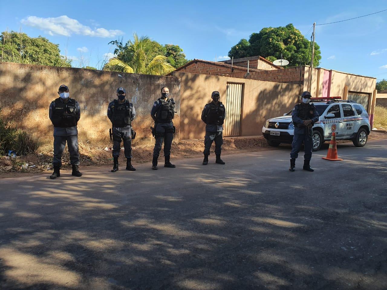 OPERAÇÃO INQUIETAÇÃO: Polícia Militar faz operação em pontos estratégicos de Barra do Corda