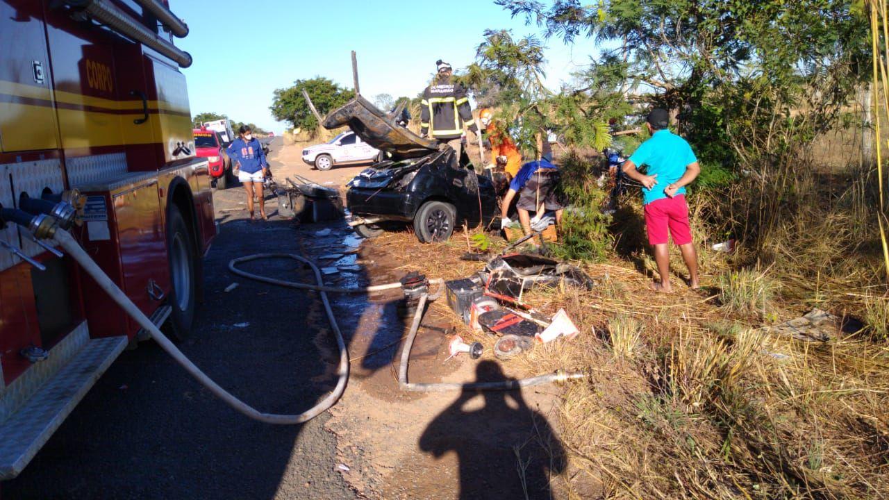 URGENTE!! Grave acidente na Br-226, entrada de Barra do Corda, provoca morte de duas pessoas