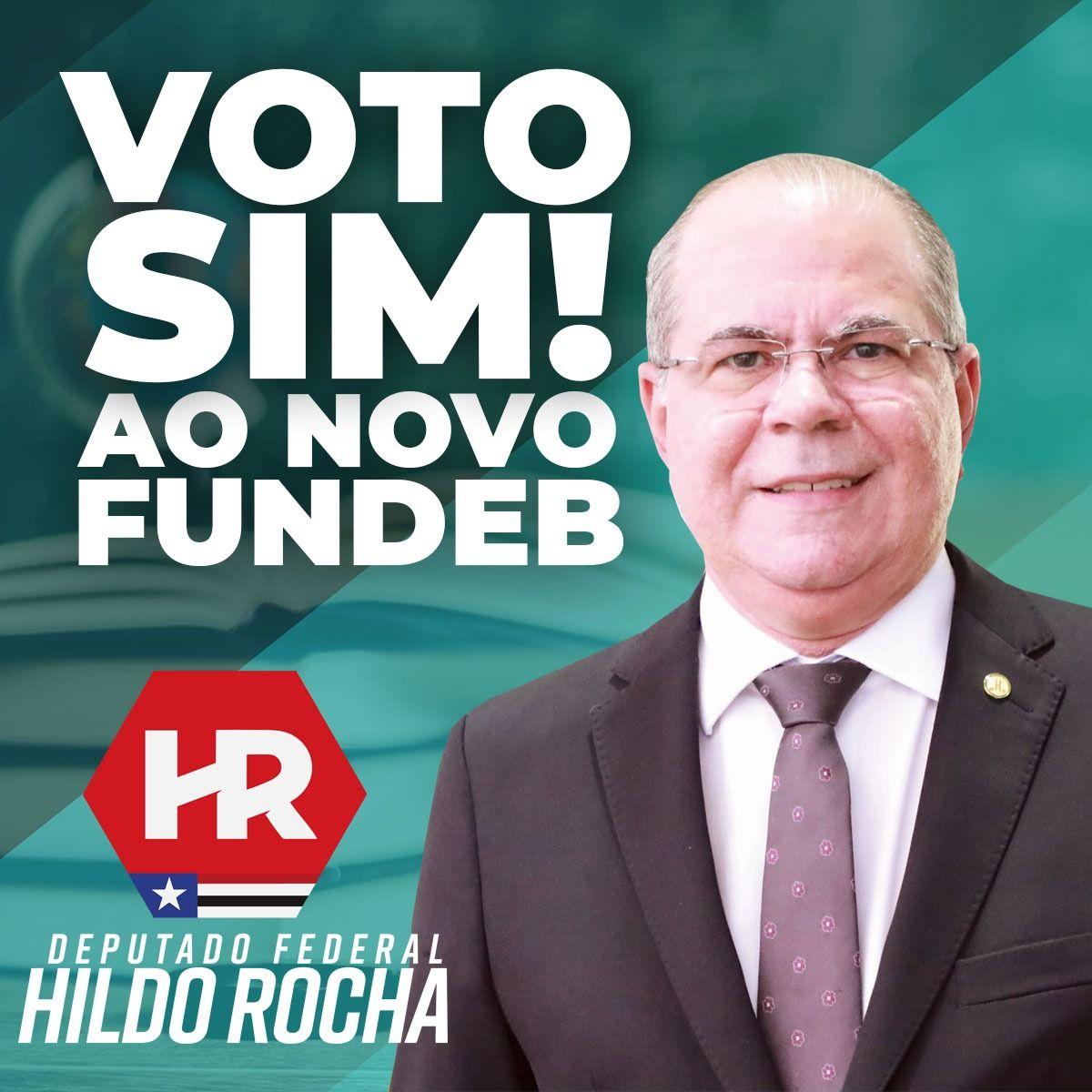 Vitória da educação: deputado Hildo Rocha comemora aprovação do novo FUNDEB