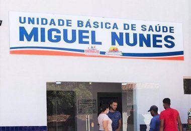 Deputado Hildo Rocha e prefeito Dário Sampaio inauguram unidade de saúde, em Senador La Rocque