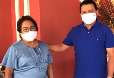ELEIÇÕES 2020: Ex-prefeita de Timon Socorro Waquim visita Rigo Teles em Barra do Corda