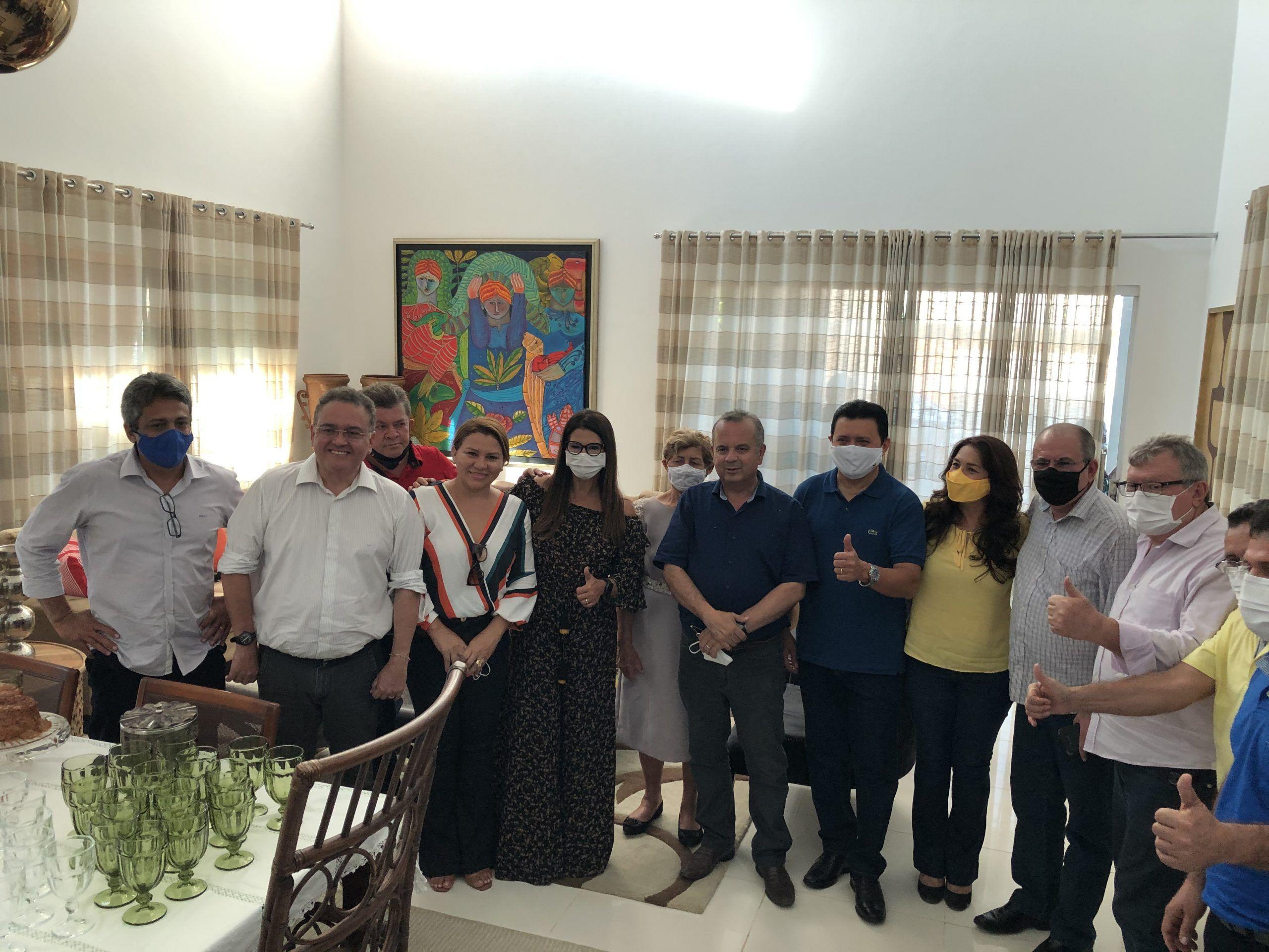 Em Barra do Corda, ministro Rogério Marinho visitou o deputado Rigo Teles e desejou sucesso nas eleições