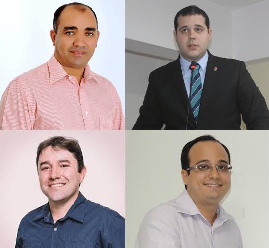 Gil Lopes, Vitalzinho e Adriano Brandes acreditaram demais na palavra do prefeito Eric Costa e foram surpreendidos pelo abandono