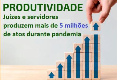 Justiça de 1º Grau ultrapassa 5 milhões de atos judiciais e processuais na pandemia, no Maranhão