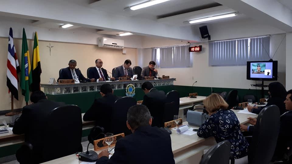 Temendo riscos de contaminação, Câmara Municipal de Barra do Corda segue com suas sessões de forma remota