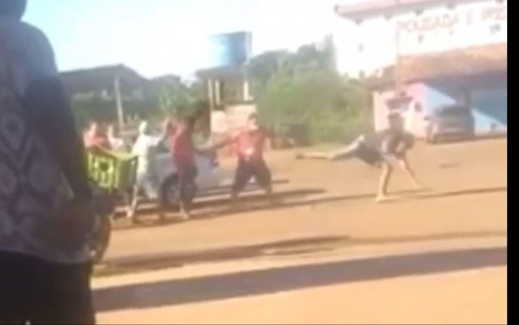 VERGONHA!! Em meio a tapas e empurrões, vereadores travam briga no interior do Maranhão