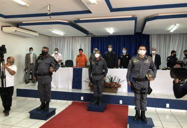 Coronel Ribeiro toma posse como novo comandante de Barra do Corda e mais 25 cidades