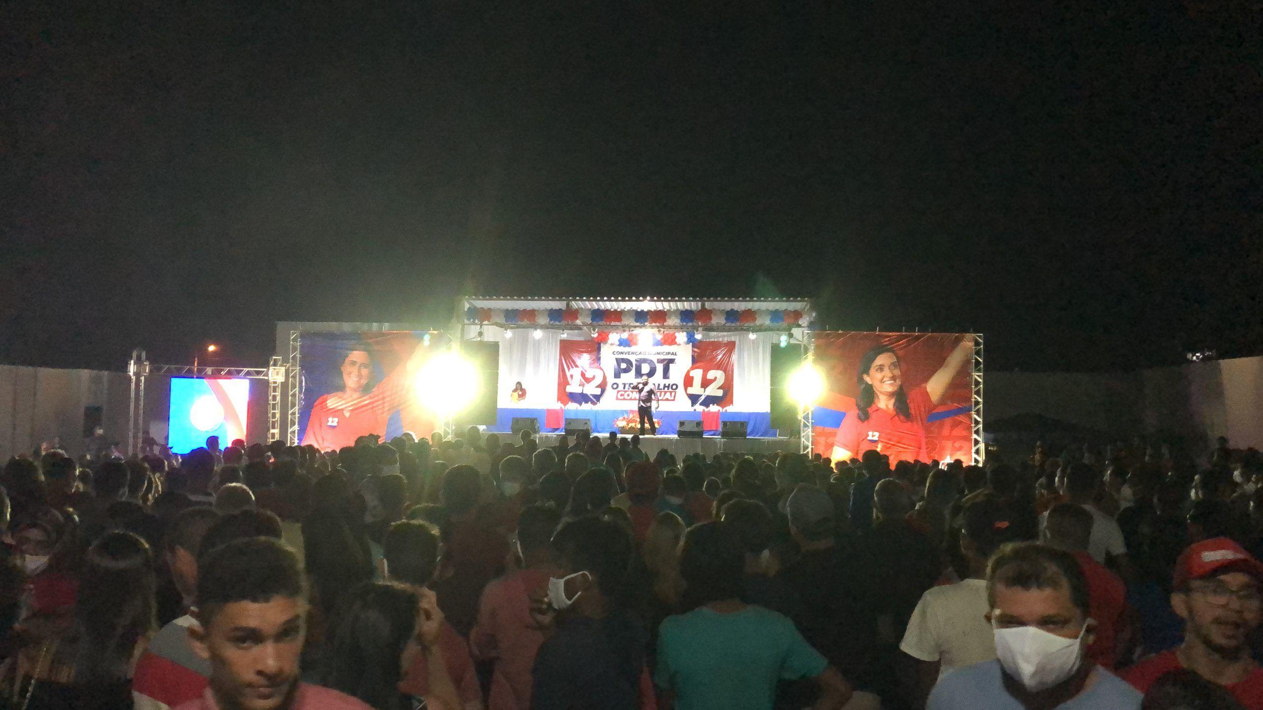Durante grande convenção, grupo do prefeito Adailton oficializa Raimunda do Josemar como candidata a prefeita de Fernando Falcão