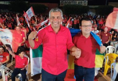 Durante grande convenção, Júnior do Posto é oficializado candidato prefeito de Itaipava do Grajaú