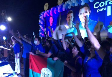 ELEIÇÕES 2020: Durante grande convenção, Arnóbio é oficializado candidato a prefeito de Jenipapo dos Vieiras
