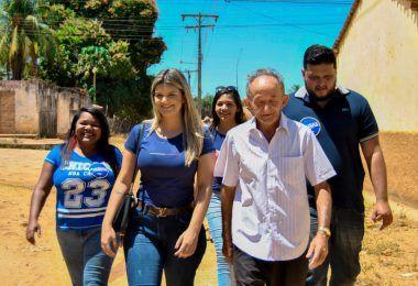 Juliana Freitas segue firme e recebendo importantes apoios em Barra do Corda