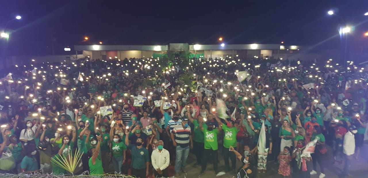 Mercial Arruda é aclamado candidato a prefeito durante grande convenção em Grajaú