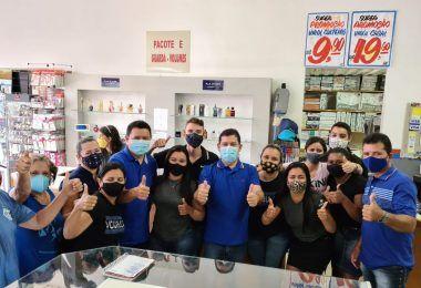 PRÉ-CAMPANHA: Rigo Teles e Marcos Unillar visitam o centro comercial de Barra do Corda e são recebidos de forma calorosa