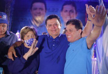 Rigo Teles e Marcos Unillar são oficializados candidatos a prefeito e vice na maior convenção da história de Barra do Corda