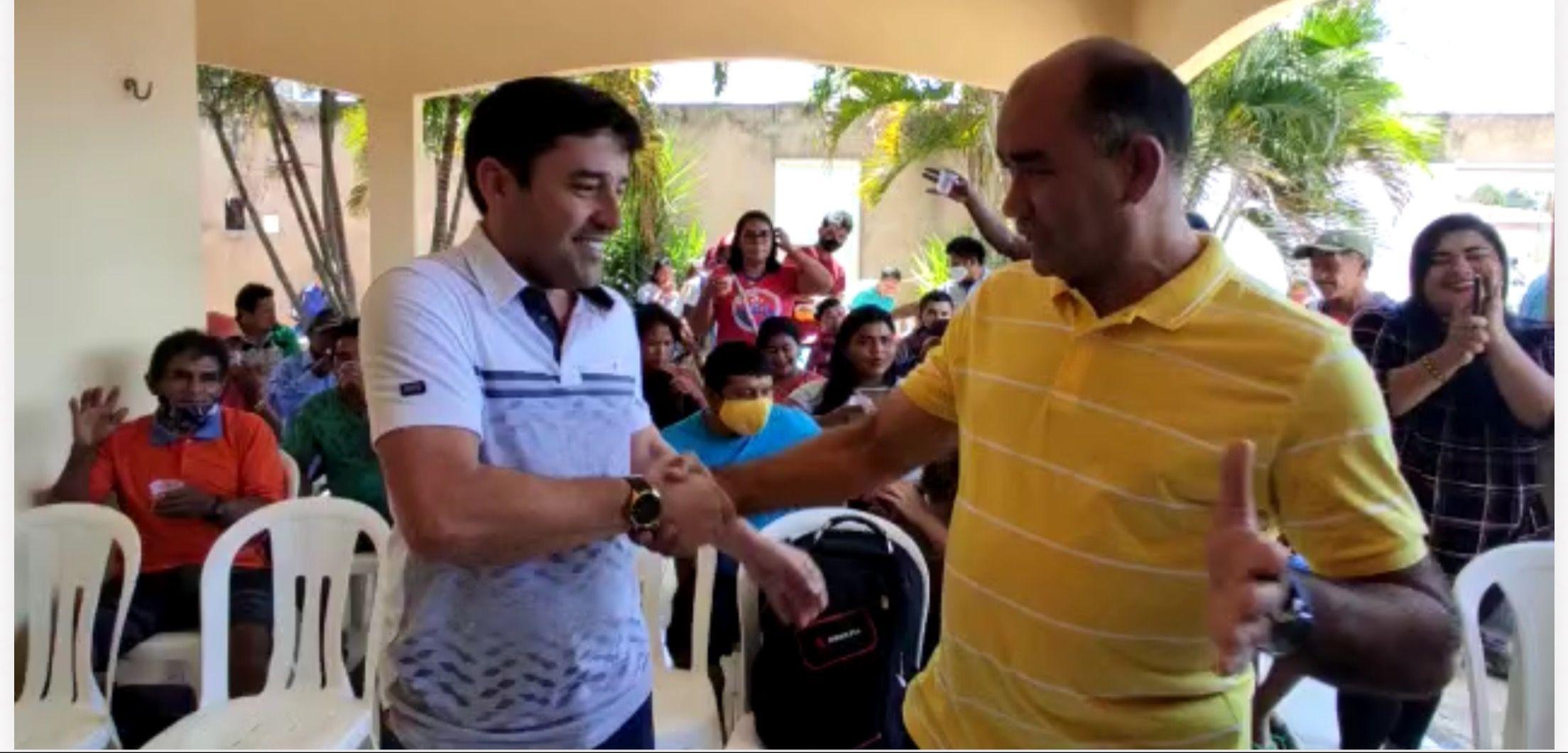 Vitalzinho será o candidato a vice-prefeito de Gil Lopes em Barra do Corda