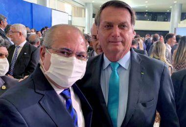 Bolsonaro convida Hildo Rocha para lançamento de programa que ofertará crédito habitacional para reforma de moradias em assentamentos