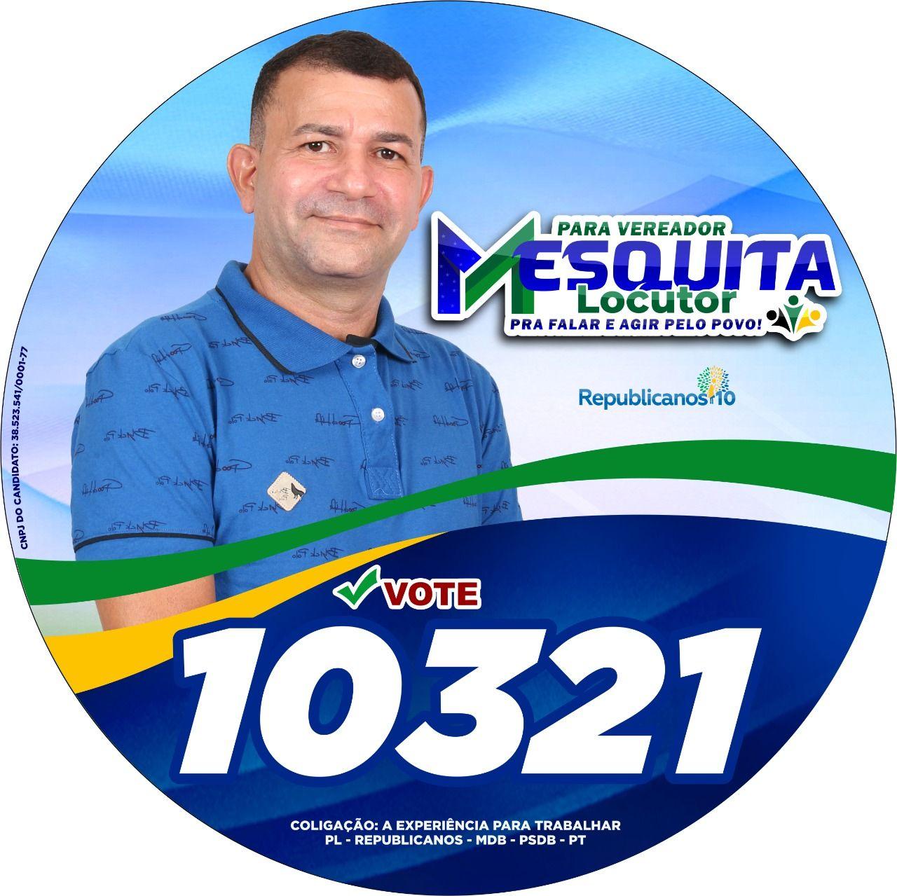 ELEIÇÕES 2020: Locutor Mesquita é candidato a vereador em Barra do Corda