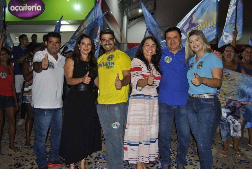 juliana freiras inaugura seu comite de campanha em barra do corda 1 1024x685 - Juliana Freitas inaugura seu comitê de campanha em Barra do Corda - minuto barra