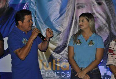 Juliana Freitas inaugura seu comitê de campanha em Barra do Corda