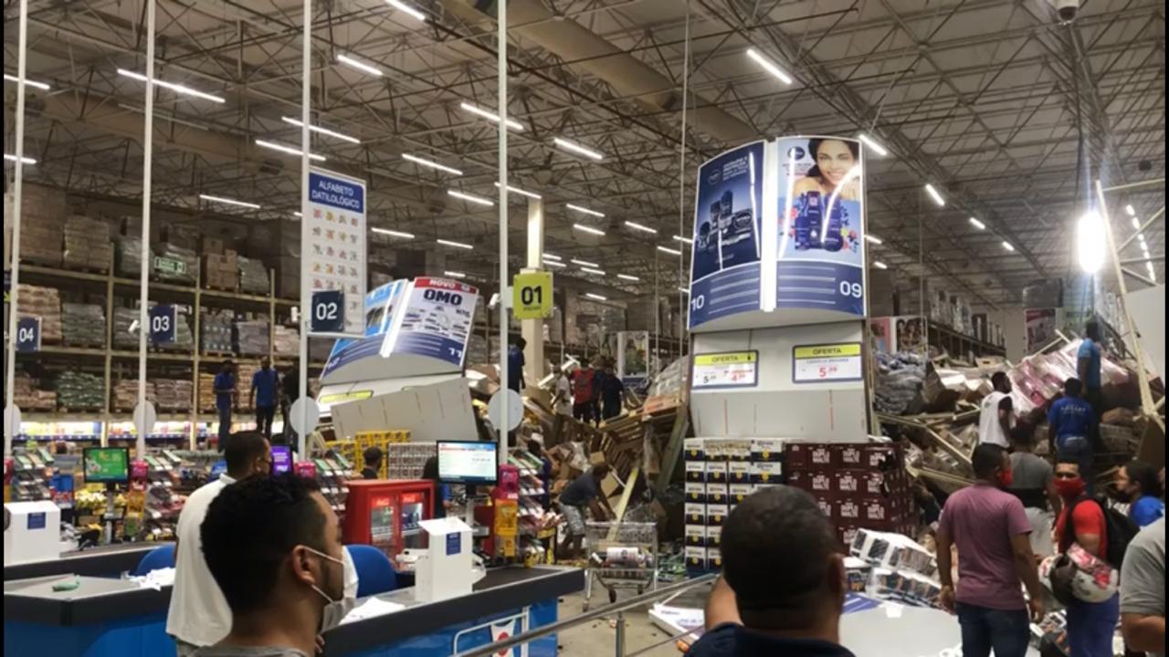 Ministério Público instaura investigação sobre desabamento no supermercado Mateus