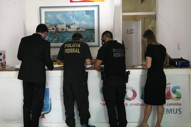 policia federal realiza mega operacao na prefeitura de sao luis por suspeitas de desvios de recursos do coronavirus 1 - Polícia Federal realiza mega operação na prefeitura de São Luís por suspeitas de desvios de recursos do Coronavírus